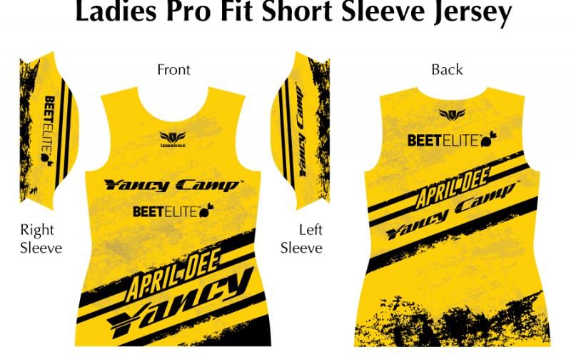 YancyCamp_LadiesShortSleeveJersey_Yellow_AprilDee