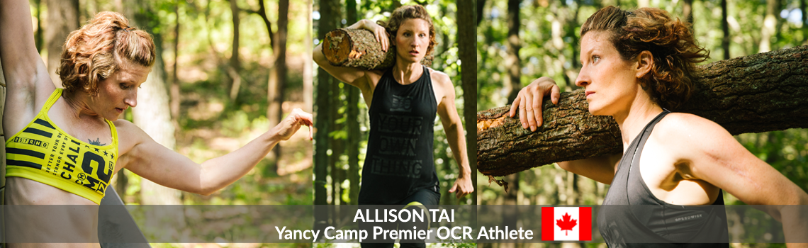 Yancy Camp Premier OCR Athlete Allison Tai