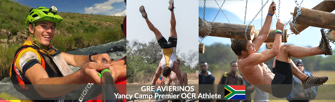 Yancy Camp Premier OCR Athlete Greg Avierinos