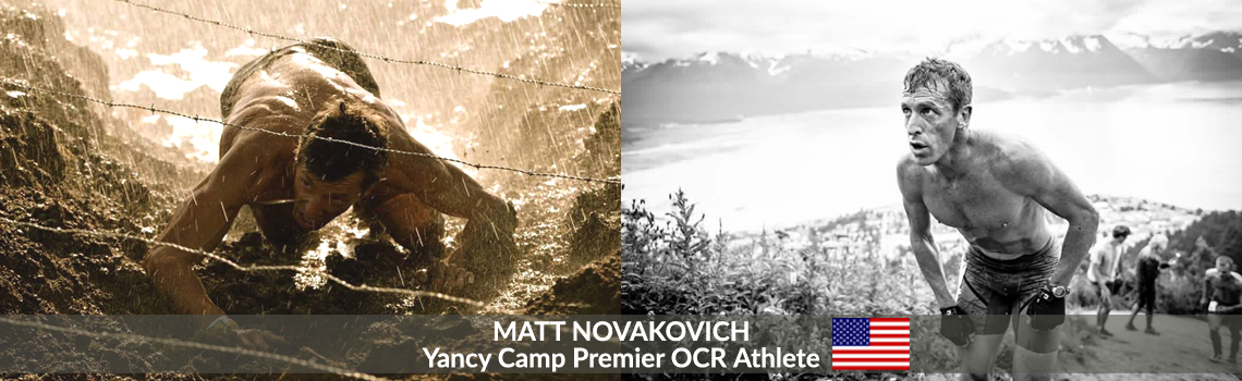 Yancy Camp Premier OCR Athlete Matt Novakovich