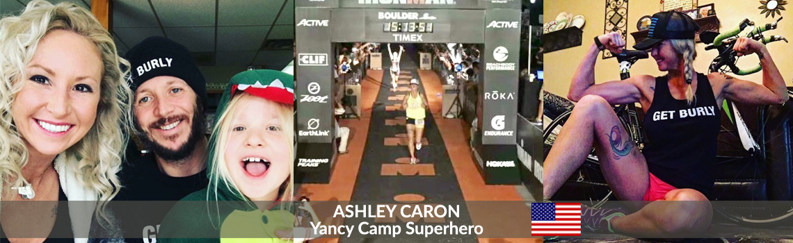 Yancy Camp Superhero Ashley Caron