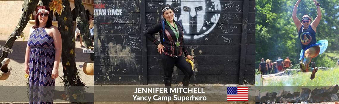 Yancy Camp Superhero Jennifer Mitchell