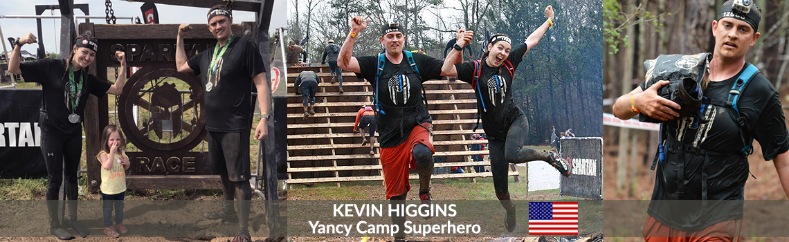 Yancy Camp Superhero Kevin Higgins