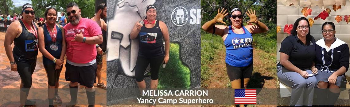 Yancy Camp Superhero Melissa Carrion