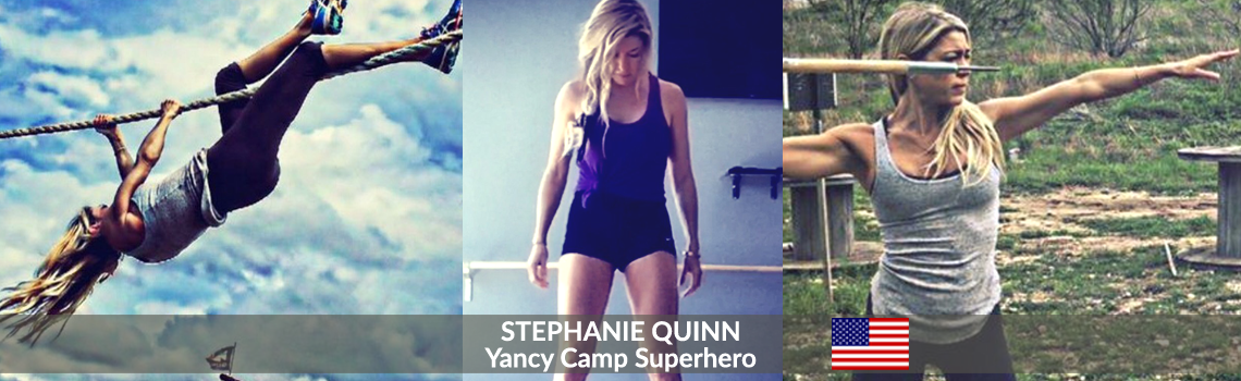 Yancy Camp Superhero Stephanie Quinn