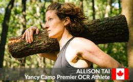 Yancy Camp OCR Premier Athlete Allison Tai