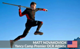 Yancy Camp Premier OCR Athlete Matt Novakovich