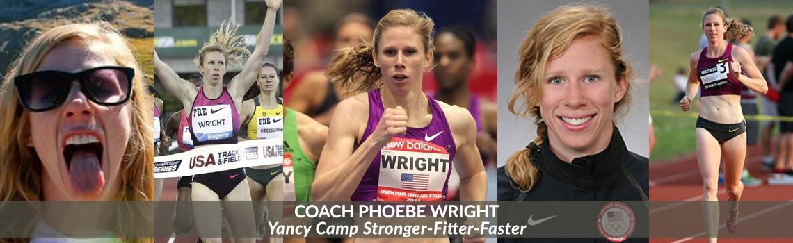 Yancy Camp Coach Phoebe Wright