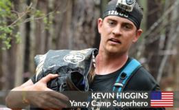 Yancy Camp Superhero Kevin Higgins
