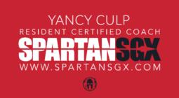 Yancy Culp Spartan SGX Certified Coach