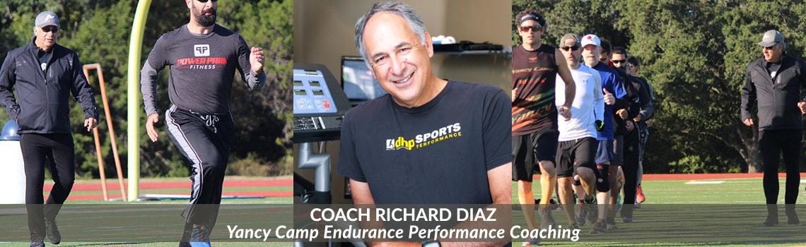 Yancy Camp Coach Richard Diaz of Endurance Performance Training
