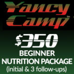 Yancy Camp Nutrition Beginner Package