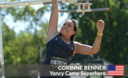 Yancy Camp Superhero Corinne Renner