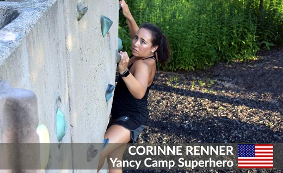 Yancy Camp Superhero Corinne Renner