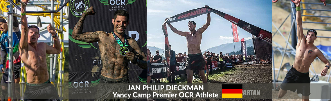 Yancy Camp Premier OCR Athlete Jan Philip Dieckman