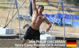 Yancy Camp Premier OCR Athlete Jan Philip Dieckman