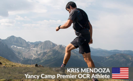 Yancy Camp Premier OCR Athlete Kris Mendoza