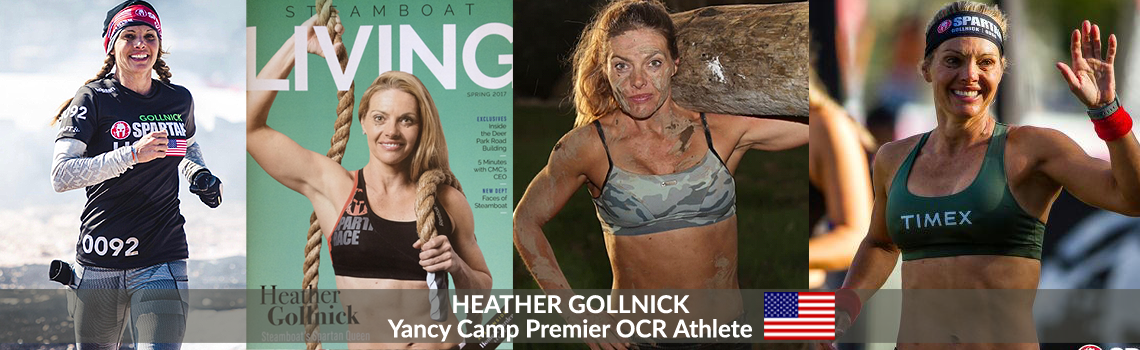 Yancy Camp Premier OCR Athlete Heather Gollnick