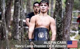 Yancy Camp Premier OCR Athlete Austin Carr