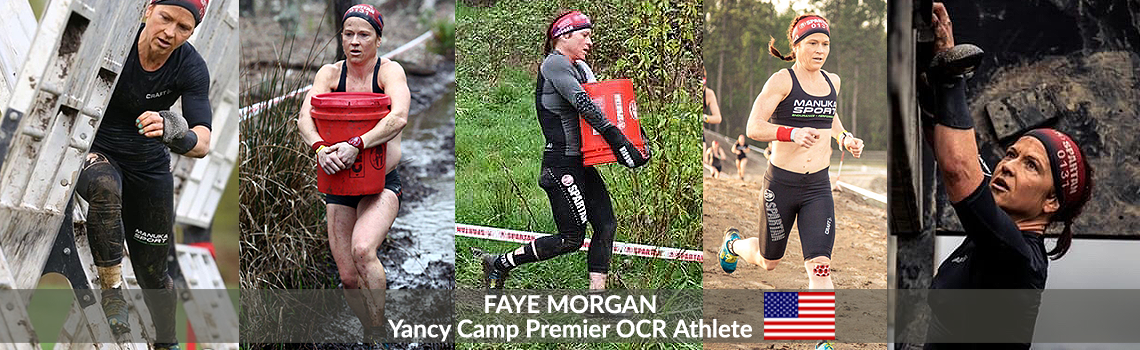 Yancy Camp Premier OCR Athlete Faye Morgan