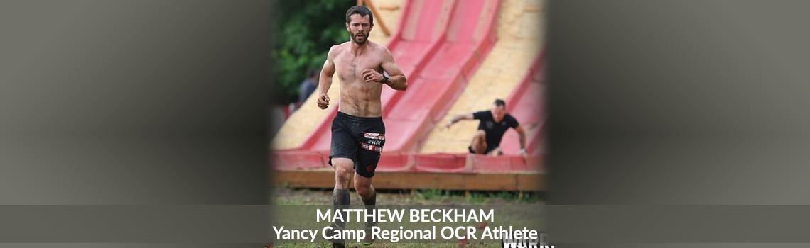 Yancy Camp Regional OCR Athlete Matthew Beckham
