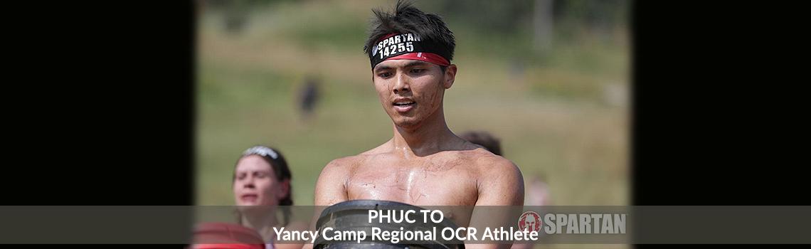 Yancy Camp Regional OCR Athlete Phuc To