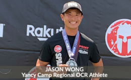 Yancy Camp Regional OCR Athlete Jason Wong