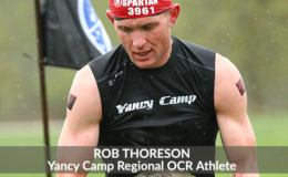 Yancy Camp Regional OCR Athlete Rob Thoreson