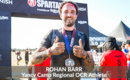 Yancy Camp Regional OCR Athlete Rohan Barr