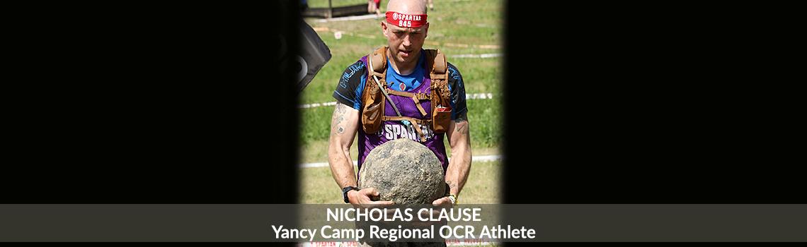 Yancy Camp Regional OCR Athlete Nicholas Clause
