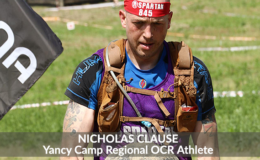 Yancy Camp Regional OCR Athlete Nicholas Clause
