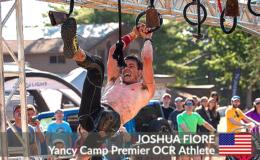 Yancy Camp Premier OCR Athlete Joshua Fiore