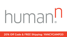 Yancy Camp Partner Human N Get 20% off plus FREE Shipping using discount code: YANCYCAMP20