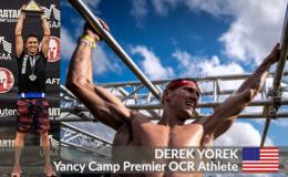 Yancy Camp Premier OCR Athlete Derek Yorek