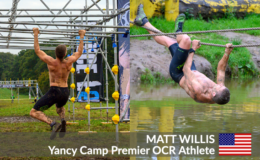 Yancy Camp Premier OCR Athlete Matt Willis
