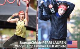 "Yancy Camp Premier OCR Athlete Perri ""SpartanChickie"" Lauren"