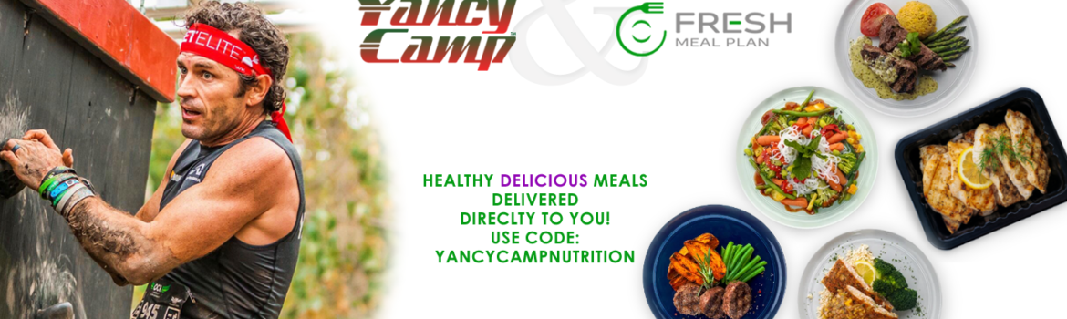 Yancy Camp & Fresh Meal Plan Announce Partnership! Active Yancy Camp members receive 10% off theirplan plus a $29 monthly discount throughout the lifeof your Yancy Camp membership. Yes, you read that right,Fresh Meal Plan's $29 discount will cover the monthly cost ofyour Yancy Camp online fitness training membership.