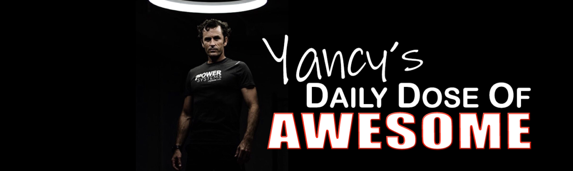Yancy's Daily Dose of Awesome